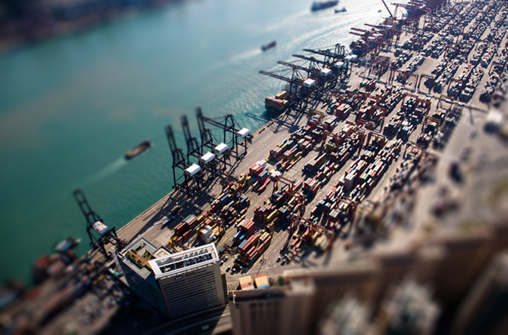 Aerial View (4), Hongkong International Terminals