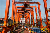 HIT Takes Delivery of 12 New Electric Rubber-Tyred Gantry Cranes (eRTGC)